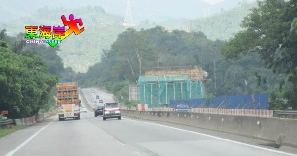 加叻大道关丹来往吉隆坡车道,6日起晚上关闭3晚