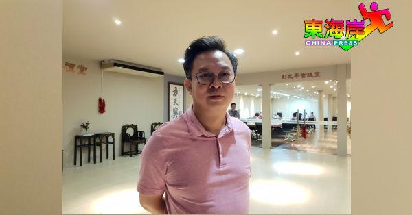 陈祥耀对不被获准查阅任何文件,感到失望。
