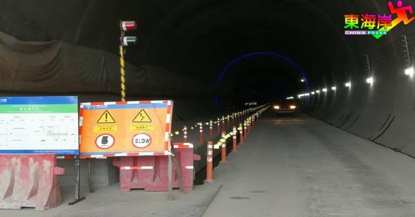东铁北加隧道在南门出口的工程,已全面落成。