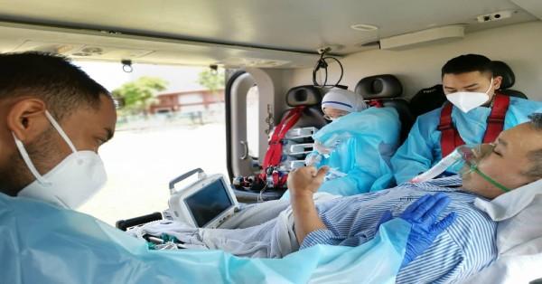 周嘉文因病情恶化,上月中旬由消拯局飞行队直升机转送槟城中央医院。